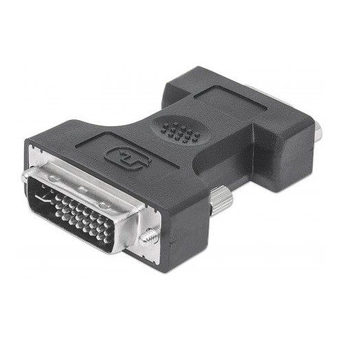 Manhattan Office Products DVI-I Dual Link Male to VGA Female Digital Video Adapter
