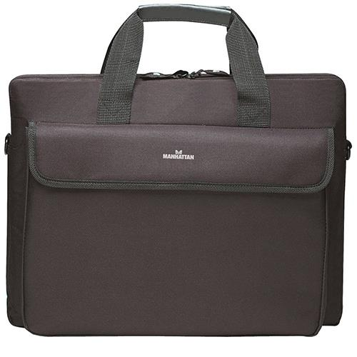 Manhattan Office Products London Notebook Computer Briefcase - Black