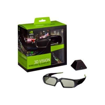 NVIDIA 3D Vision Wireless Glasses Kit - 3D glasses (942-10701-0003-004)