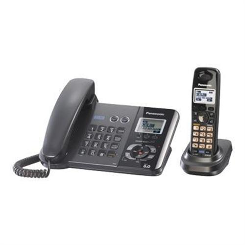 Panasonic KX TG9391T - corded/cordless - answering system with caller ID + additional handset