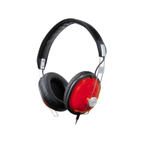 Panasonic Monitor Stereo Headphones - Red
