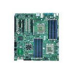 Super Micro SUPERMICRO X8DAi - Motherboard - extended ATX - LGA1366 Socket - 2 CPUs supported - i5520 - FireWire - 2 x Gigabit LAN - HD Audio (8-channel) MBD-X8DAI-O
