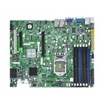 SUPERMICRO X8SI6-F - Motherboard - ATX - LGA1156 Socket - 2 CPUs supported - i3420 - 2 x Gigabit LAN - onboard graphics