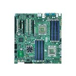 SUPERMICRO X8DA3 - Motherboard - extended ATX - LGA1366 Socket - 2 CPUs supported - i5520 - FireWire - 2 x Gigabit LAN - HD Audio (8-channel)