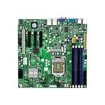SUPERMICRO X8SIL - Motherboard - micro ATX - LGA1156 Socket - i3400 - 2 x Gigabit LAN - onboard graphics