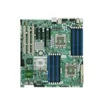 SUPERMICRO X8DA6 - Motherboard - extended ATX - LGA1366 Socket - 2 CPUs supported - i5520 - 2 x Gigabit LAN - HD Audio (8-channel)