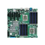 SUPERMICRO X8DAH+-F - Motherboard - extended ATX - LGA1366 Socket - 2 CPUs supported - i5520 - FireWire - 2 x Gigabit LAN - onboard graphics - HD Audio (8-channel)