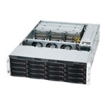 Supermicro SC837 E26-RJBOD1 - Rack-mountable - 3U - SATA/SAS - hot-swap 1620 Watt - black