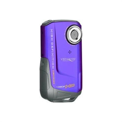 VistaQuest USA VQ-DV820HD Sport - camcorder - storage: flash card