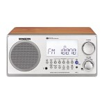 Sangean R-2 - Clock radio - 7 Watt - walnut WR-2WL