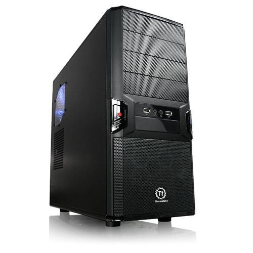 ThermalTake Thermaltake V3 - Black Edition - mid tower - ATX/MicroATX