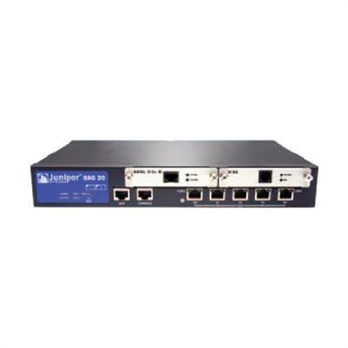 Juniper Networks Secure Services Gateway SSG 20 - security appliance - with ADSL2+ Mini-PIM