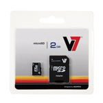 4GB Micro SDHC Class 4 Card with SD Adapter