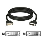 DVI cable - dual link - DVI-D (M) to DVI-D (M) - 25 ft