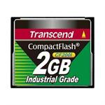 Transcend CF200I Industrial Grade - Flash memory card - 2 GB - CompactFlash TS2GCF200I