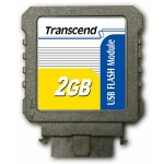 Transcend flash memory module - 2 GB TS2GUFM-V