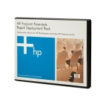 Hewlett Packard Enterprise ProLiant Essentials Rapid Deployment Pack - License - 1 user - ACT - Linux, Win - for ProLiant BL20p G4 453819-B21