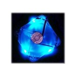 FAN-4LED-120BU - Case fan - 120 mm - blue, crystal