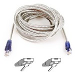 High Speed Internet Modem Cable - Phone cable - RJ-11 (M) to RJ-11 (M) - 15 ft - double shielded - molded, snagless - ice