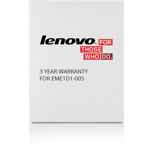 Lenovo 3 YEAR WARRANTY FOR      EME1D1-005