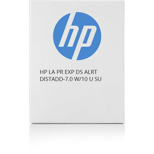 HP LA PR EXP DS ALRT DISTADD-7.0 W/10 U SU