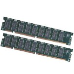 Edge Memory EDO RAM - 128 MB : 2 x 64 MB - DIMM 168-pin - 3.3 V - buffered - ECC 149025-B21-PE