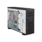 "Supermicro SuperServer 7045W-NTR+ - Server - tower - 4U - 2-way - RAM 0 MB - SATA - hot-swap 3.5"" - no HDD - ATI ES1000 - GigE - monitor: none"