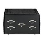 DB9 Switch ABCDE - Switch - 4 x serial - desktop