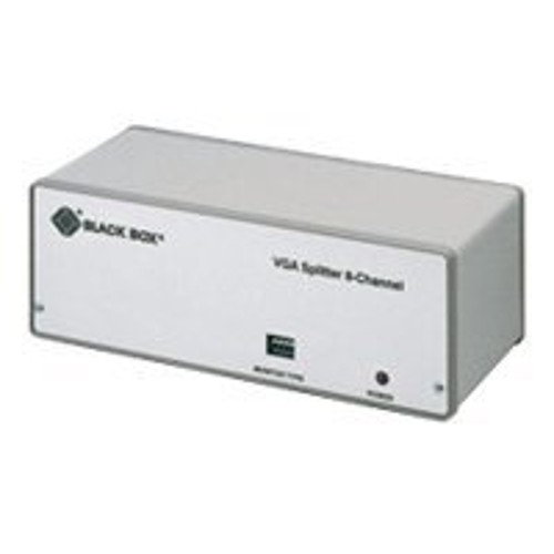 Black Box VGA Video Splitter 8-Channel - video splitter - 8 ports - desktop