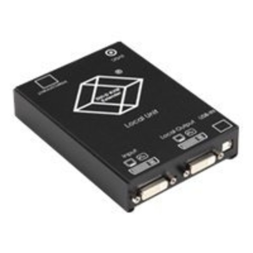 Black Box ServSwitch DVI CATx KVM Extender, Single, Transmitter - KVM extender