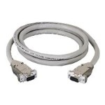 EDN 12H - Serial extension cable - DB-9 (F) to DB-9 (F) - 5 ft - white