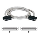 DB37 Interface Cable - Serial RS-449 cable - DB-37 (F) to DB-37 (F) - 15 ft - shielded - gray
