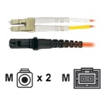 Premium - Patch cable - LC multi-mode (M) to MT-RJ multi-mode (M) - 3.3 ft - fiber optic - 62.5 / 125 micron - riser