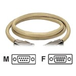 ED/Q - Serial extension cable - DB-9 (F) to DB-9 (M) - 10 ft - thumbscrews