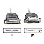 Black Box Serial cable ( DTE ) - DB-25 (M) to DB-25 (F) - 10 ft - for Matrix ServSwitch; ServSwitch Affinity EHN291-0010