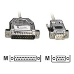 Black Box Serial cable ( DCE ) - DB-25 (M) to DB-9 (M) - 5 ft - for Matrix ServSwitch; ServSwitch Affinity EHN292-0005