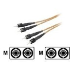 Network cable - ST multi-mode (M) to ST multi-mode (M) - 33 ft - fiber optic - 62.5 / 125 micron - riser
