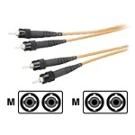 Network cable - ST multi-mode (M) to ST multi-mode (M) - 33 ft - fiber optic - 62.5 / 125 micron - plenum
