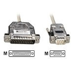 Black Box Serial cable ( DCE ) - DB-25 (M) to DB-9 (M) - 20 ft - for Matrix ServSwitch; ServSwitch Affinity EHN292-0020