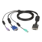Secure Switch Cable VGA & PS/2 To