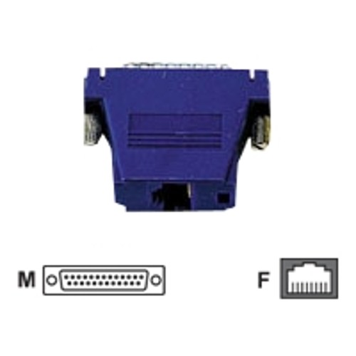 Black Box Colored Modular Adapter network adapter - blue