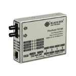 FlexPoint - Fiber media converter - 100Mb LAN - 100Base-FX, 100Base-TX - ST single-mode / RJ-45 - up to 36 miles - 1300 nm
