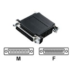 Asynchronous Modem Eliminator - Modem adapter - DB-25 (F) to DB-25 (M)