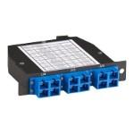 Pre-terminated fiber optic cassette - SC MM X 12 - for P/N: MTP-MTP-015M-10G, MTP-MTP-020M-10G, MTP-MTP-030M-10G, MTP-MTP-050M-10G