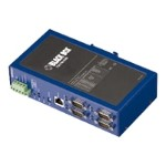 Black Box Industrial Ethernet Serial Server - Device server - 4 ports - 10Mb LAN, 100Mb LAN, RS-232, RS-422, RS-485 LES404A