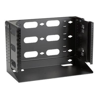 Black BoxRack (wall mount) - 6U - 19