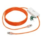 CAT6 Protected Patch Cord - Surge protector