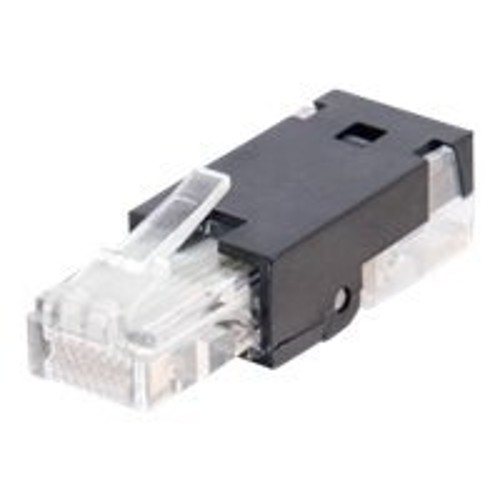 Cables To Go network connector - black