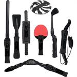 CTA Digital 8 in 1 Sports Pack for Wii Sport Resort in Black WI-8SRB