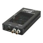 S6210 Series DS3-T3/E3 Coax to Fiber Network Interface Device - Short-haul modem - SFP (mini-GBIC) / BNC - T-3/E-3